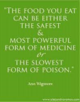 food can be poisin